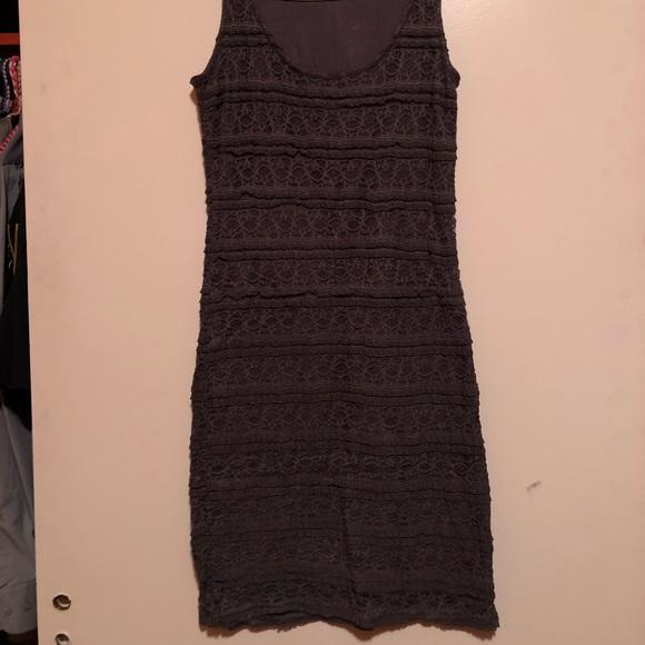 Dynamite Grey Lacy Dress